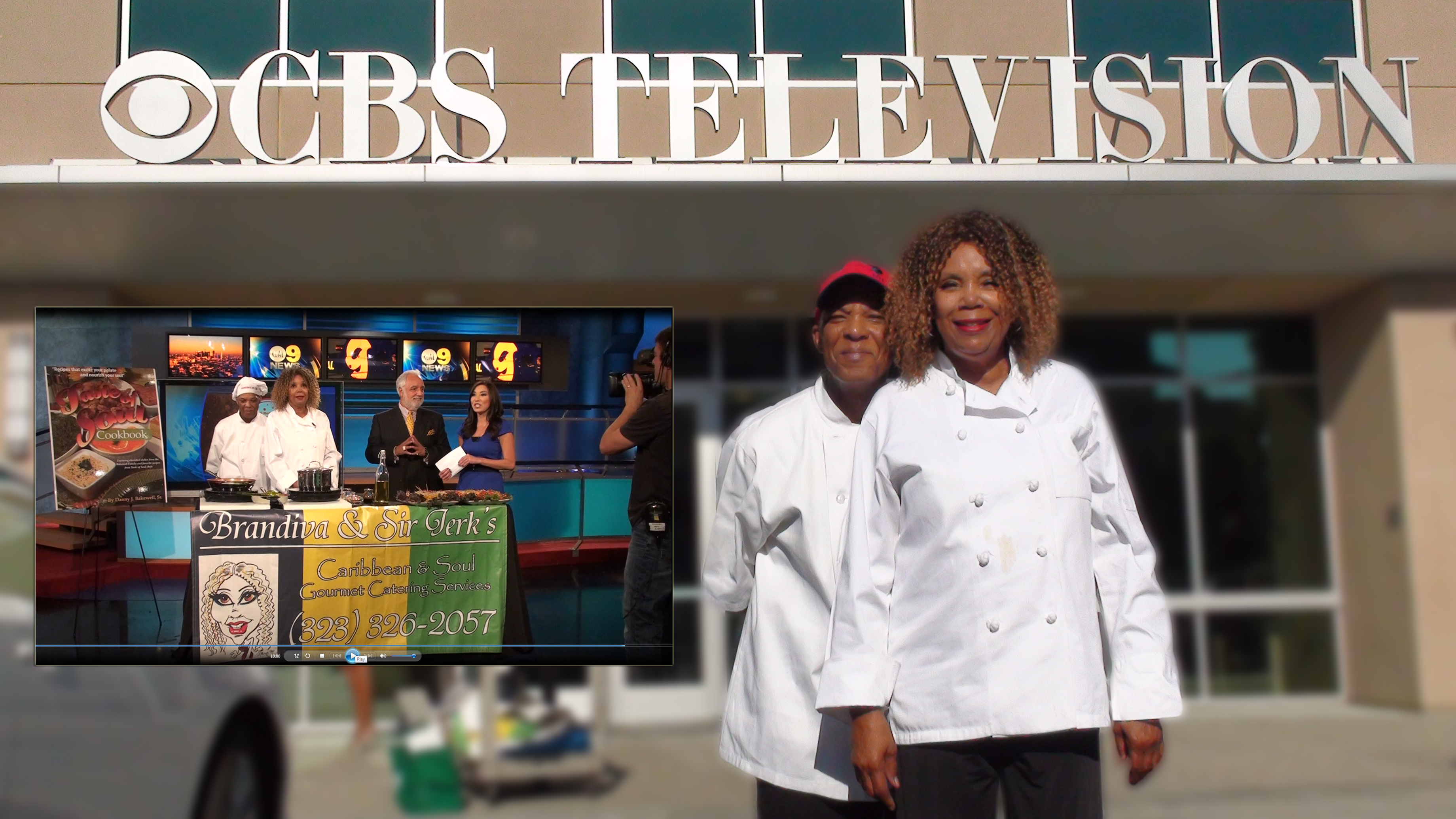 Brandiva And Sir Jerks Caribbean Soul Food Catering on CBS